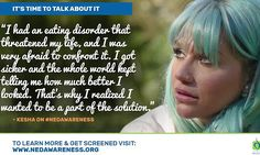 Kesha makes heartfelt PSA about eating disorders | Daily Mail Online