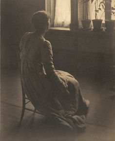 Clarence H. White, Evening Interior, ca. 1899