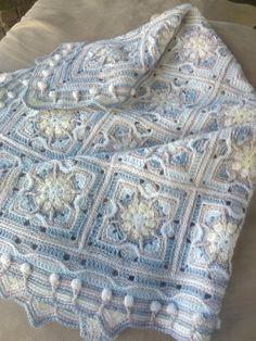 Crochet Square Patterns, Crochet Squares, Crochet Blanket Patterns, Crochet Motif, Crochet Blankets, Baby Blankets, Granny Squares, Free Crochet Square, Hexagon Crochet