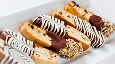 A classic, Italian biscotti recipe: crispy, crumblycookies with pistachios and dried cranberries, dipped into chocolate. These cookies are very easy to make and go so well with a cup of coffee or tea! Dip them into chocolate to make them extra special. Wrap them into individual wrappers and give them to your family and friends […]