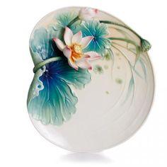 Franz Porcelain Lotus Harmony Collection Dessert Plate