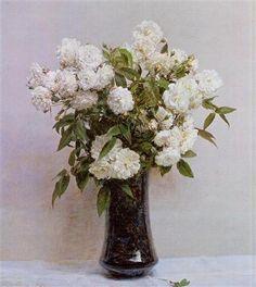 Fairy Roses - Henri Fantin-Latour