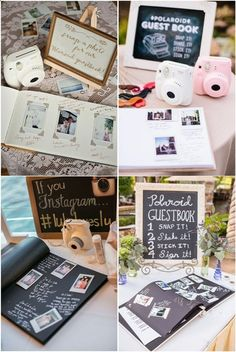 7 Creative Polaroid Wedding Ideas Too Cool to Pass up! 7 Creative Polaroid Wedding Ideas Too Cool to Pass up!,the day 7 Creative Polaroid Wedding Ideas Too Cool to Pass up! Perfect Wedding, Fall Wedding, Wedding Ceremony, Dream Wedding, Wedding Venues, Decor Wedding, Photobooth Wedding Ideas, Party Wedding, Wedding Sign In Ideas