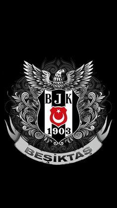 Beşiktaş Duvar Kağıtları BJK City Wallpaper, Galaxy Wallpaper, Fire Lion, Black Eagle, Football Art, Football Wallpaper, Thing 1, Juventus Logo, Logos