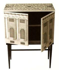 fornasetti small chest high legs architettura