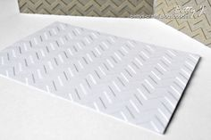 Bettys Crafts: DIY cardboard embossing folder/Prägeschablone