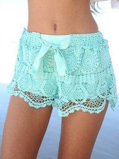 Sexy Fashion Loose Lace Shorts