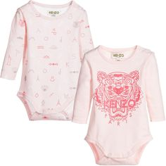 8222e0f4b183 Baby Girls Pink Romper 2-Piece Gift Set