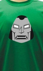 Camiseta Doutor Destino Face - Camisetas Personalizadas, Engraçadas e Criativas