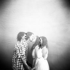 Holga double exposure - #engagement