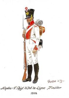 Best Uniform - Page 69 - Armchair General and HistoryNet >> The Best… Army Uniform, Military Uniforms, Kingdom Of Naples, Two Sicilies, Best Uniforms, Empire, Naples Italy, Holland, Napoleonic Wars