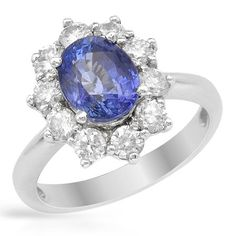 Sapphire and diamonds by FORELI.