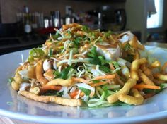 Oriental Chicken Salad with Thai Peanut Dressing. Now here is one that is simple and sounds yummo!