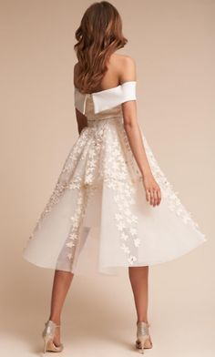 Featured Wedding Dress: BHLDN