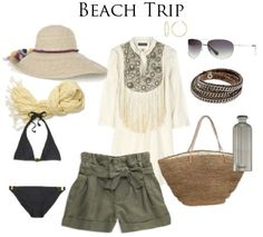 Check out this laid back ensemble perfect for the beaches of Emerald Isle, NC!