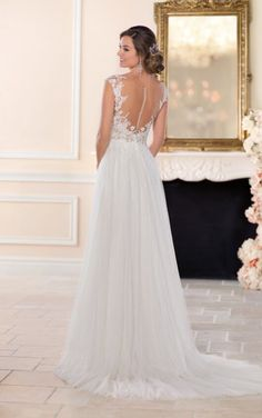 6490 Romantic Beach Wedding Gown by Stella York