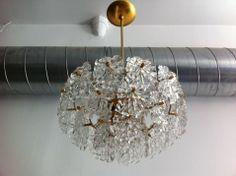 Kalmar Crystal Pendant  Austria 1960