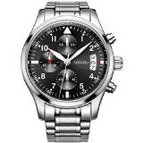 #8: SONGDU Mens Date Quartz Stainless Steel Multifunction Chronograph Wrist Watches Luminous Numeral | http://ift.tt/2cl82Sl shares men Watches collection #Get #men #watches #fashion
