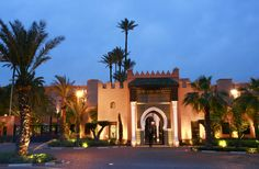 La Mamounia luxury hotel, Marrakech, Morocco, Africa - Image Broker/Rex Features