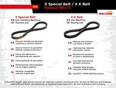 X Special e X K belt.  CINGHIE Malossi: la scelta migliore per garantire prestazioni ed affidabilità al vostro scooter ➠ http://storage.malossistore.com/news/pdf_prodotti/dim_cinghie_100.pdf  X Special & X K belt.  Malossi BELTS: the best choice to ensure maximum performance and reliability from your scooter ➠ http://storage.malossistore.com/news/pdf_prodotti/dim_cinghie_001.pdf