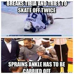 Best wishes for a speedy recovery Stamkos!
