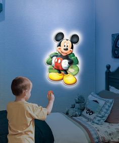 Look at this #zulilyfind! Mickey Mouse Wall Friends Talking Light by Mickey Mouse #zulilyfinds