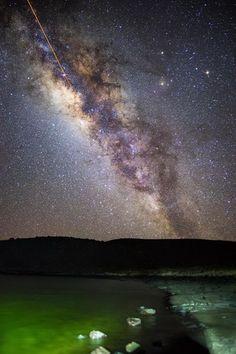 Гавайи, млечный путь, фото Ulderico Granger - США (Соединённые Штаты Америки) - Континент Северная Америка - Каталог статей - Открытая Книга: Путешествие