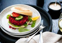 Beetroot and Feta Burger Recipe - Viva