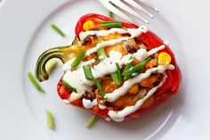 Made these last night & they're delicious! :) -Southwest Stuffed Peppers