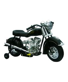 LIMITED SUPPLY on sale for a few hours on Zulily.com.    Black Little Vintage Indian Chief Motorcycle Ride-On #zulily #zulilyfinds