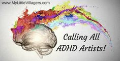 Calling All Young ADHD Artists!