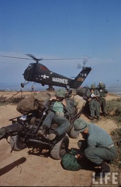 This series was taken by Larry Burrows on March 8, 1965, when BLT 2/9 Marines landed on RED Beach at Da Nang: