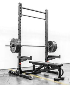 monster squat stand for garage gym