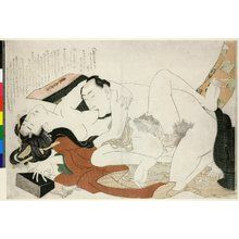 Katsushika Hokusai: Ehon tsuhi no hinagata 絵本つひの雛形 (Picture-book Models of Couples) - British Museum