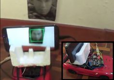 Android+Arduino – Face Following RC Car