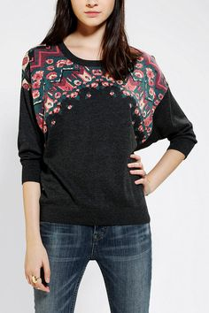 Ecote Jacquard Folk Sweater