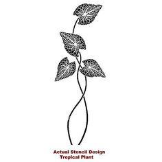 large-leaf-stencil
