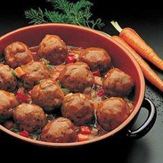 Sección Gourmet: Albóndigas de carne a la pomarola