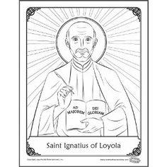 Saint Anthony of Padua Catholic coloring page: Feast day