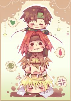 Saiyuki <3 lol i haven't seen this in FOREVER!