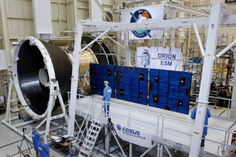 Airbus Defence and Space's qualification model of the solar array for the Orion spacecraft operated flawlessly during a deployment test Solar array with