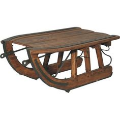 Logging Sled Coffee Table Mountain Original Metals Vintage And Image Search