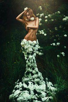 * flower dress *
