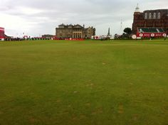 Home of golf, St. Andrews, Scotland, UK