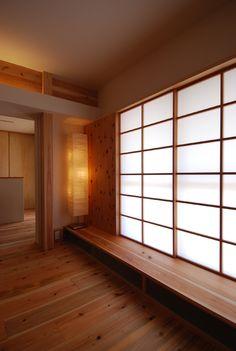 リビングとルーフバルコニーを仕切る障子 | 木のマンションリフォーム・リノベーション設計実例 | 木のマンションリフォーム・リノベーション-マスタープラン一級建築士事務所