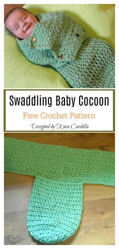 Excellent Absolutely Free Crochet baby swaddle Popular Swaddle Me Baby Cocoon Free Crochet Pattern Crochet Baby Cocoon Pattern, Pattern Baby, Newborn Crochet Patterns, Baby Patterns, Dress Patterns, Modern Crochet Patterns, Crochet Ideas, Crochet Projects, Knitting Patterns