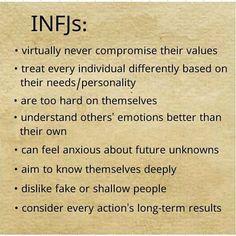 INFJ traits