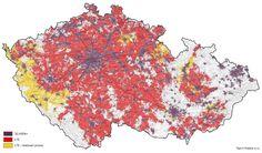 Aktuální pokrytí Turbo Internetem na začátku srpna 2014. Rychlými daty už pokrýváme téměř 2/3 území ČR, tedy 86 % obyvatel. http://www.vodafone.cz/turbo