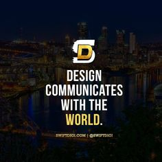Design is a universal language.. Tag someone that needs to see this!  #swiftquotes - - #instadaily #quoteoftheday #inspirationalquotes #marketing #webdesign #webtraffic #optimization #content #seo #socialmediatips #communitymanager #smtips #contentmarketing #socialmediatips #goviral #like4like #artist #branding #brandidentity #logo #logodesign #startuplife #entrepreneurs #branding100 #digitalartist #designlife  #workfromhome #logos #icondesign #appdesign…