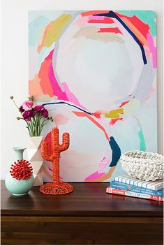 Hanging Art In The Home– 20 Leading Tips – Buy Abstract Art Right Painting Inspiration, Art Inspo, Creation Art, Contemporary Abstract Art, Contemporary Bedroom, Hanging Art, House Painting, Painting Doors, Diy Art